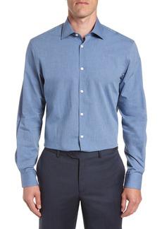 John Varvatos Star USA Regular Fit Solid Dress Shirt