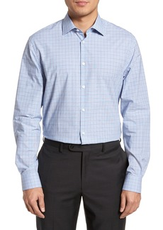 John Varvatos Star USA Regular Fit Stretch Check Dress Shirt