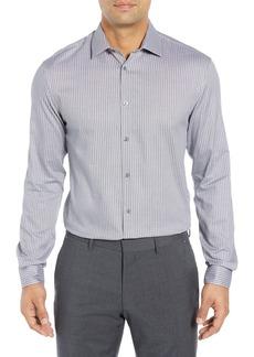 John Varvatos Star USA Regular Fit Stretch Stripe Dress Shirt