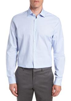 John Varvatos Star USA Regular Fit Stripe Dress Shirt