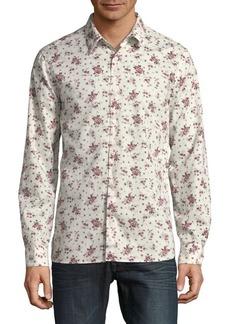 John Varvatos Star U.S.A. Reversible Printed Shirt