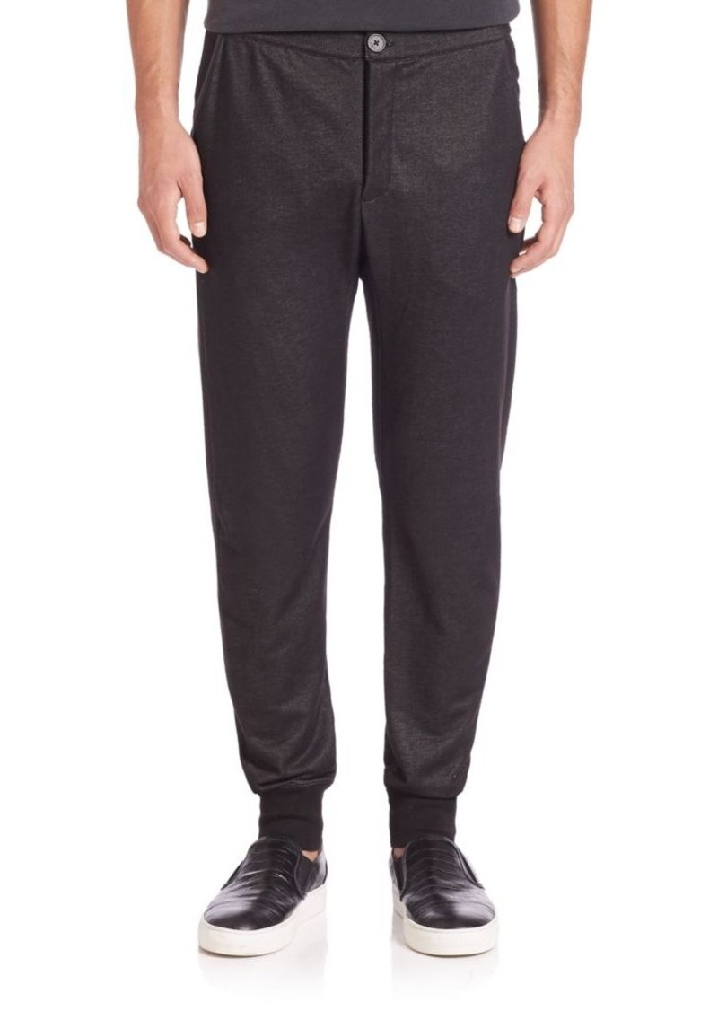 John Varvatos Star USA Rib-Cuff Knit Pants
