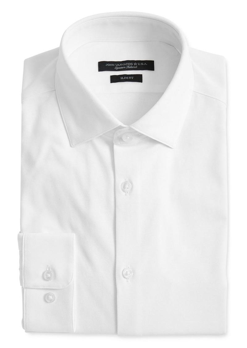 John Varvatos Star USA Rick Jersey Slim Fit Dress Shirt