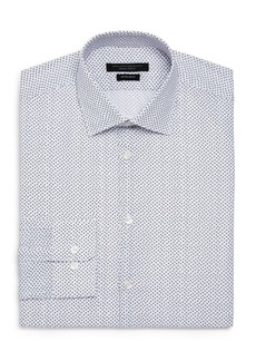 John Varvatos Star USA Scattered Print Regular Fit Dress Shirt