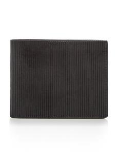 John Varvatos Star USA Scored Leather Bi-Fold Wallet