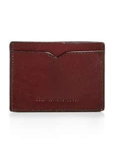 John Varvatos Star USA Scored Leather Card Case