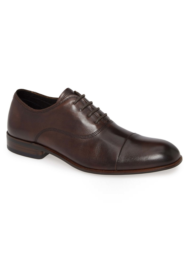 John Varvatos Star USA Seagher Cap Toe Oxford (Men)