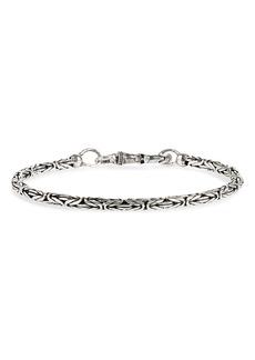 John Varvatos Silver Chain Bracelet
