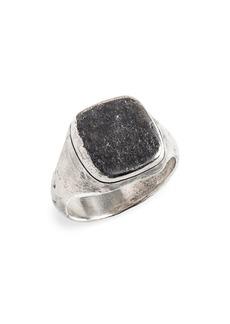 John Varvatos Silver Ring