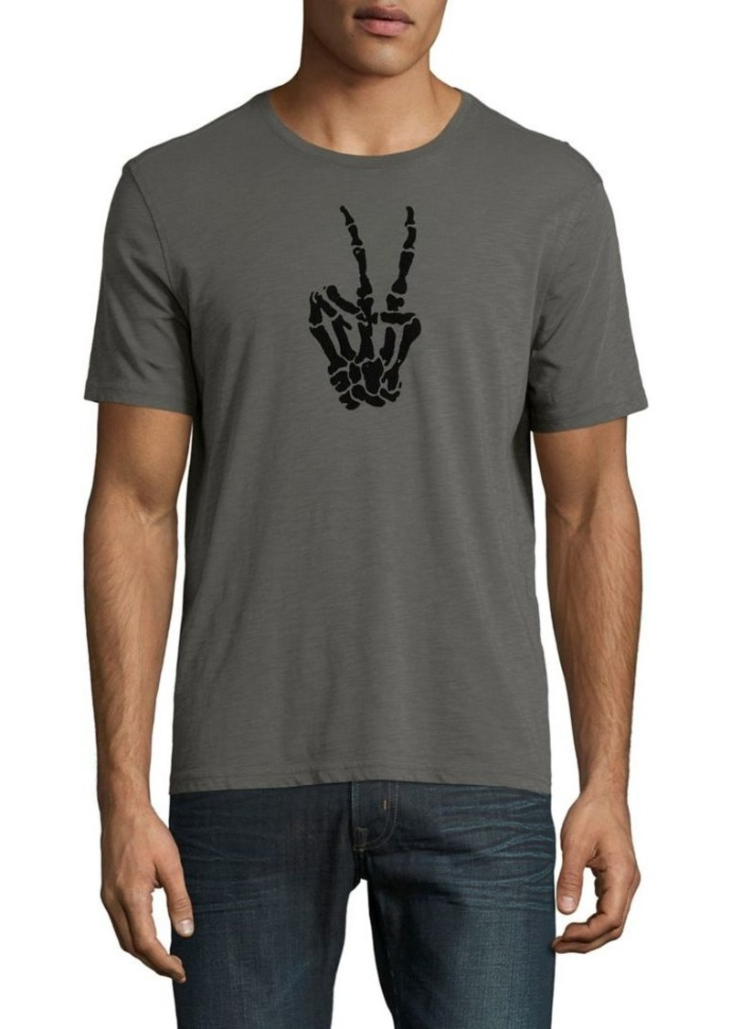 e23cae0f John Varvatos John Varvatos Star U.S.A. Skeleton Peace Sign Graphic ...