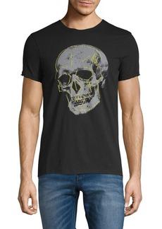 John Varvatos Star U.S.A. Skull Graphic Cotton Tee