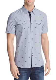 John Varvatos Star USA Skulls Regular Fit Button-Down Shirt