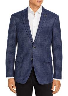 John Varvatos Star USA Slim Fit Bleecker Check Jacket