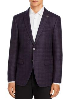 John Varvatos Star USA Slim Fit Bleecker Plaid Sport Coat
