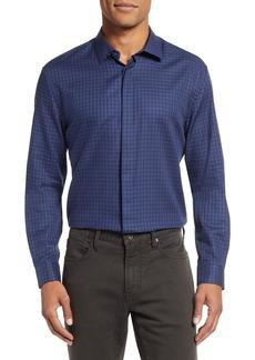 John Varvatos Star USA Slim Fit Check Dress Shirt