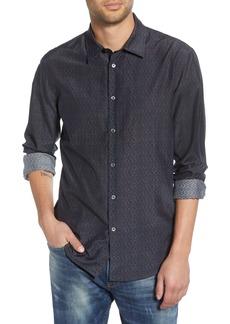 John Varvatos Star USA Slim Fit Cotton & Silk Sport Shirt