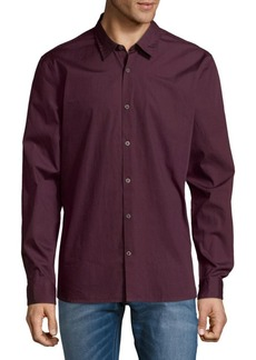 John Varvatos Star U.S.A. Slim-Fit Cotton Button-Down Shirt