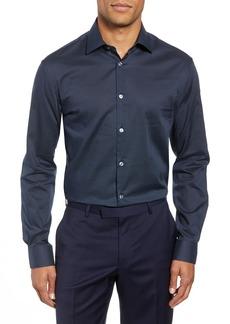John Varvatos Star USA Slim Fit Dot Dress Shirt