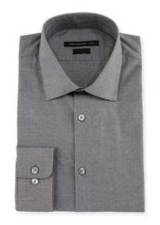 John Varvatos Star USA Slim-Fit Micro-Check Dress Shirt