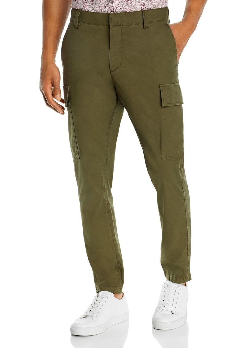 John Varvatos Star USA Slim Fit Olive Cargo Pants