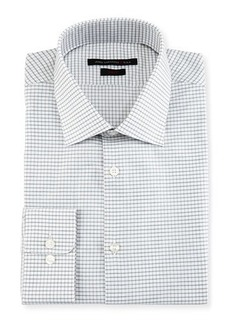 John Varvatos Star USA Slim-Fit Plaid Dress Shirt