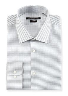 John Varvatos Star USA Slim-Fit Plaid Dress Shirt