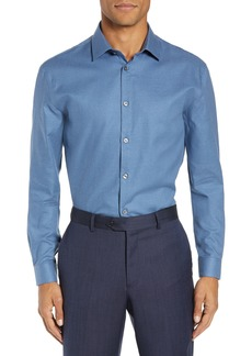 John Varvatos Star USA Slim Fit Solid Dress Shirt