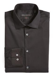 John Varvatos Star USA Slim Fit Solid Stretch Cotton Dress Shirt