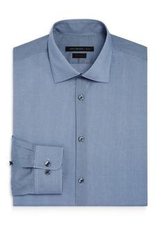 John Varvatos Star USA Small Dot Waves Slim Fit Dress Shirt