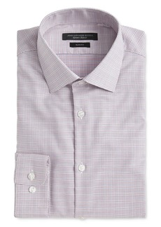 John Varvatos Star USA Soho Contrast Grid Slim Fit Dress Shirt