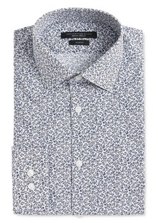 John Varvatos Star USA Soho Scattered Floral Print Slim Fit Dress Shirt