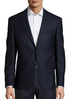 John Varvatos Solid Cashmere Jacket