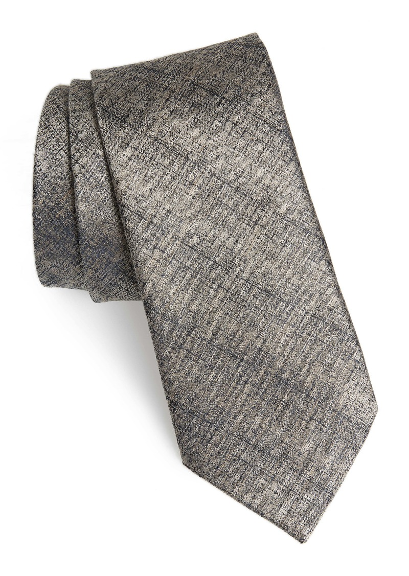 John Varvatos Star USA Solid Silk Blend Tie