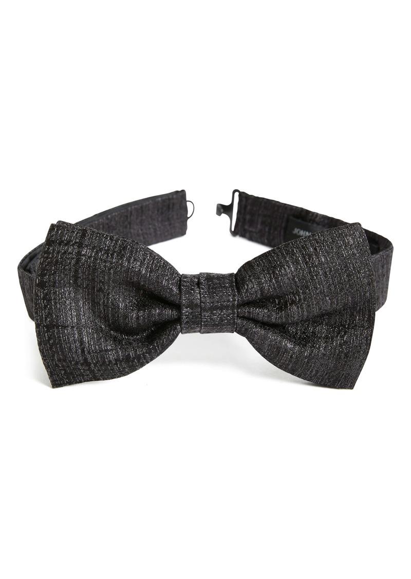 John Varvatos Star USA Solid Silk Bow Tie