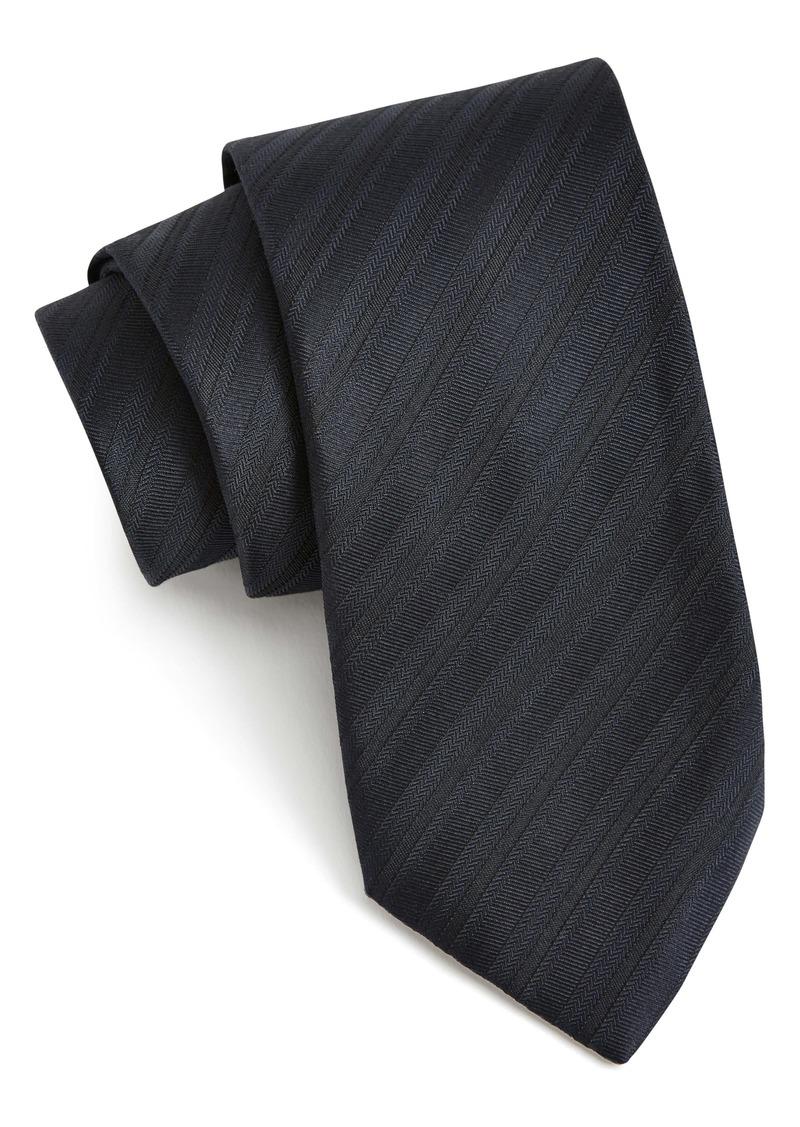 John Varvatos Star USA Solid Stripe Tie