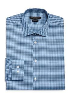 John Varvatos Star USA Spencer Cotton-Blend Check Regular Fit Dress Shirt
