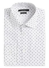 John Varvatos Star USA Spencer Dot Print Slim Fit Dress Shirt