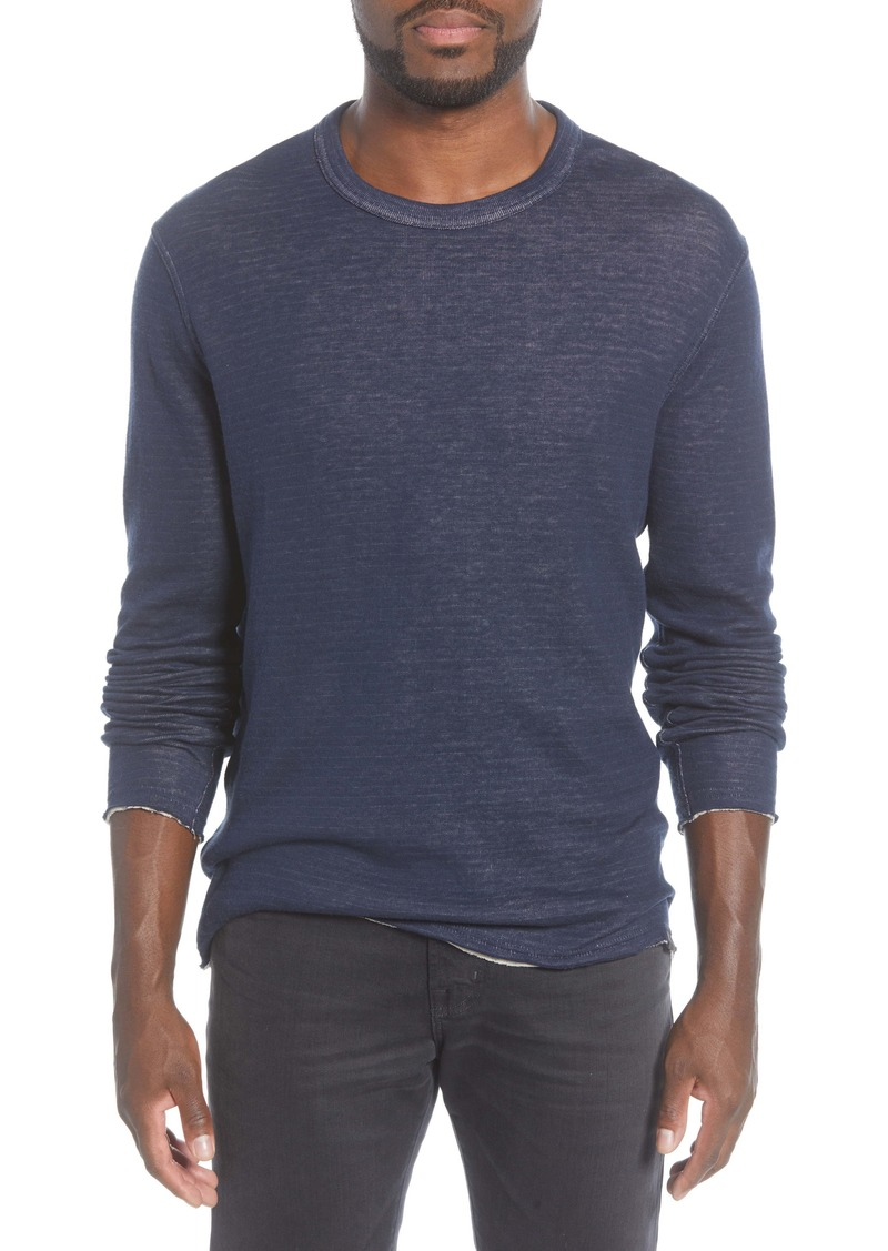 John Varvatos Star USA Stamford Reversible Double Knit Pullover