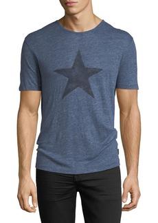 John Varvatos Star Graphic Linen T-Shirt