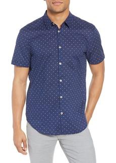 John Varvatos Star USA Star Print Woven Shirt