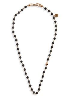 John Varvatos Stone Bead Necklace
