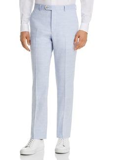 John Varvatos Star USA Street Linen & Wool Slim Fit Suit Pants