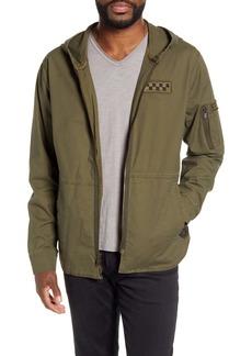 John Varvatos Star USA Stretch Cotton Hooded Jacket