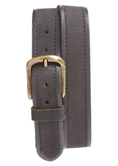 John Varvatos Star USA Suede Belt