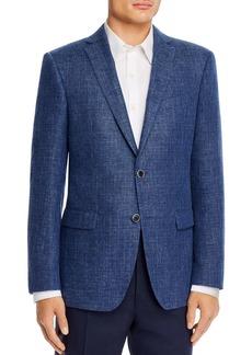 John Varvatos Star USA Textured M�lange Slim Fit Sport Coat