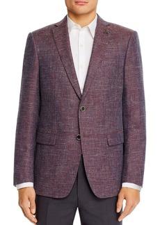 John Varvatos Star USA Textured M�lange Weave Slim Fit Sport Coat