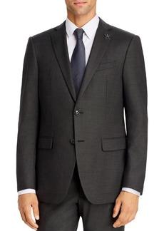 John Varvatos Star USA Textured Solid Slim Fit Suit Jacket