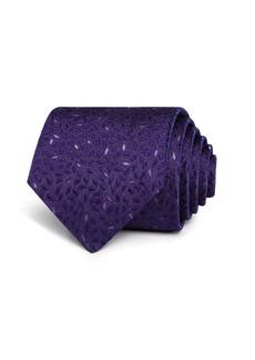 John Varvatos Star USA Tonal Leaves Classic Tie