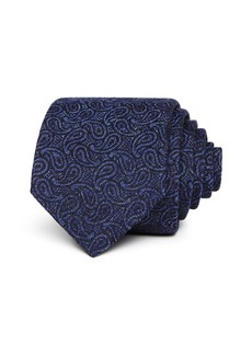 John Varvatos Star USA Tonal Paisley Silk Classic Tie