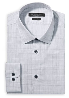 John Varvatos Star USA Tonal Plaid Slim Fit Dress Shirt
